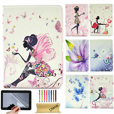 """Butterfly Pattern Diamond Smart PU Leather Case Cover For iPad Pro 9.7"""" /Mini 4"""