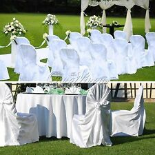 Universal 140*110CM Satin Tie Satin Chair Cover Top Bow  Wedding Party Xms Decor