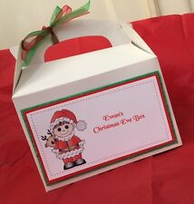 Personalised Christmas Gift Box Christmas Eve Box VARIOUS DESIGNS AVAILABLE