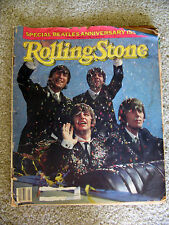 THE BEATLES Cover ROLLING STONE Feb. 16, 1984 Special Anniversary Issue #415