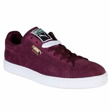 Puma Suede Classic + Maroon Mens Trainers - 356568-37