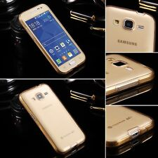 360 Degrees Protective Anti-crash Cover TPU Soft Phone Cases For Samsung iPhone