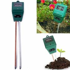 Professional 3 in1 Soil PH Tester Moisture Light Meter hydroponics Analyzer JK~