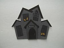 3D - U Pick - Halloween Haunted Houses Scrapbook Card Embellishment Various