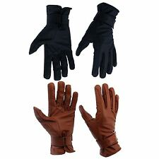 Horka Equestrian Driving Warm Lightweight Winter Horse Riding Leather Glove