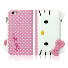 [CA] Hello Kitty iPhone 6/6s Plus Case Wallet Clutch Coin Purse Mirror 3Color