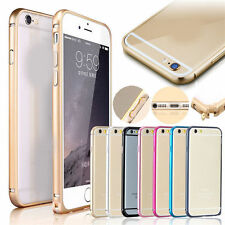Luxury Ultra Metal Aluminium Alloy Bumper Frame Case Cover for iPhone6 6S Plus R