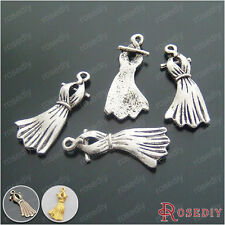 Zinc Alloy Skirt Charms Pendants Jewelry Findings Accessories 16220