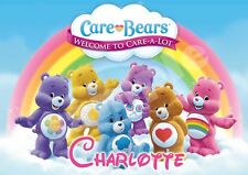 Care Bears Personalised Placemat (A4 Size) great gift stocking filler