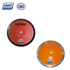 IAAF Steel + Plastic Competition Discus High Spin 1.5KG 1.75KG 2KG Track & Field