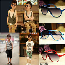 Cool Modish Children Boys Girls Kids Plastic Frame Aviator Sunglasses Goggles