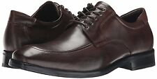 Men's Johnston & Murphy Feldon Moc Toe Oxfords, 20-2203 Sizes 7-13 Brown Calfski