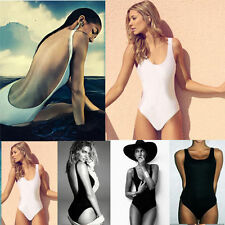 Summer Sexy Women One Piece Bikini Monokini Padded Backless Swimwear KG