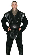 Quality Black Jedi Tunic Only - Compatible with an Anakin Skywalker Sith Costume