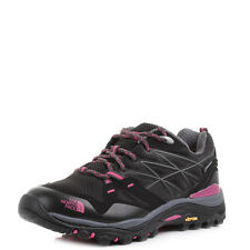Womens The North Face Hedgehog Fastpack GTX Black Pink Hiking Trainers Shu Size
