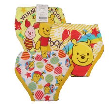 Potty Training Pants Baby Kids Reusable Yellow Winnie The Pooh 3 Pk Unisex