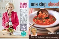 Mary Berry Cookbook Collection 2 Book Set Pack One Step Ahead Cook Now Eat Later