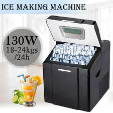 Polar Countertop Ice Maker Instructions : ... 2l black counter table top ice cube machine maker bar drinks cocktails