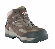 Iron Age Mens Brown WP Leather 6in Hiker Boots High Ridge Steel Toe