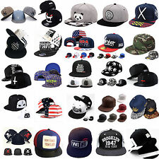 Unisex Fashion Men Women Snapback Adjustable Baseball Cap Hip-Hop Hat Cool Bboy