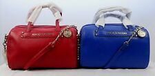JUICY COUTURE LEATHER HANDBAG  ROBERTSON LEATHER SMALL STEFFY SHOULDER HANDBAG
