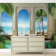 Beach Tropical WALL MURAL PHOTO WALLPAPER (1527DK)