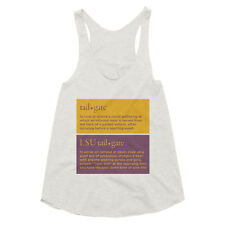 Graphic Tee, Womens, LSU Tailgate Definition, Funny Racerback Tank, 2 Colors