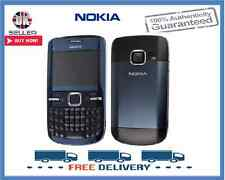 Brand New Nokia C3-00 Blue Qwerty Wifi Unlocked Mobile Phone Complete Box