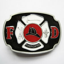 Men Belt Buckle Firefighter Belt Buckle Gurtelschnalle Boucle de ceinture