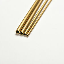 1Pcs Brass Tube Pipe Tubing Round Inner 2mm 3mm 4mm 5mm Long 300mm Wall 0.5mm