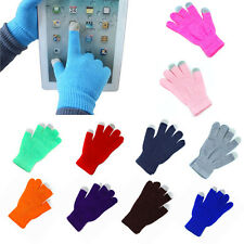 Soft Winter Mens Women Touch Screen Gloves Texting Capacitive Smartphone Knit