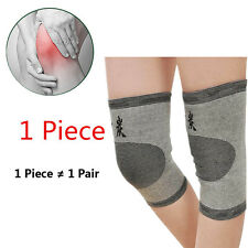 1x Knee 2016 Gym Bike Protector Guard Support Brace Kneecap Bamboo Charcoal