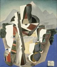 """DIEGO RIVERA Painting Poster or Canvas Print """"Zapata-style Landscape"""""""