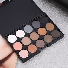 Professional 15 Colors Matte Shimmer Eyeshadow Palette Makeup Cosmetic set KG