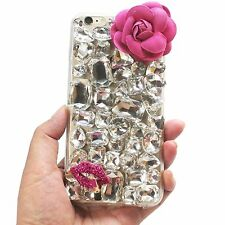 Cute Bling Rhinestone iPhone 6/6S/Plus Case 3D Luxury Shiny Diamond Cover Skin