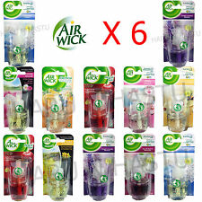 6 x airwick air wick electrical plug in refills freshener scent home office best air freshener for office