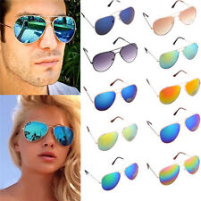 Unisex Vintage Retro Women/Men Fashion Mirror Lens Sunglasses KG
