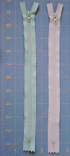 "10"" ZIPPERS ~ YKK NYLON COIL ~ LOT of 2 ~ YOU PICK ~ for PURSES ACCESSORIES ETC"