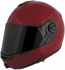 Speed and Strength SS1700 Solid Speed Full Face Motorcycle Helmet Wineberry