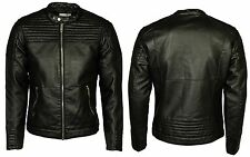 MENS NEW JACK & JONES SMART BIKER JACKET  IN BLACK COLOUR ALL SIZES RRP £50