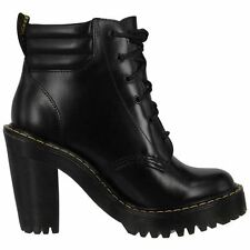 Dr.Martens Persephone 6 Eyelet Buttero Black Womens Shoes