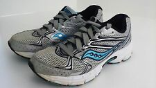 Saucony Athletic Running Blue Gray 9 Womens Shoes