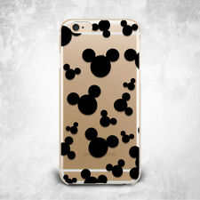 Funny Mickey Mouse TPU Silicone Rubber Case iPhone 4 4s 5 5s 5c SE 6 6s plus