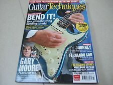 Guitar Techniques Magazine & CD July 2009 Gary Moore, Journey