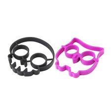 Silicone Skull Egg Fried Frying Mould Funny Breakfast Pancake Mold Ring KG