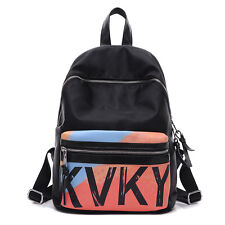 Women Casual Fashion Nylon Backpack Handbag Satchel Lady Girls Student Schoolbag