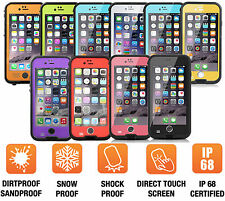 Waterproof Shockproof Dirt Proof Snowproof Life Cover Case For iPhone 6 6S Plus