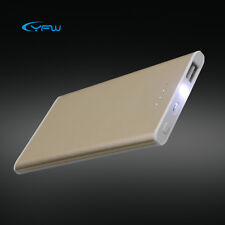 Universal 5000 mAh Slim Power Bank Portable Battery Charger for Cell Phone