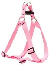 Lupine Solid Pink Step-In Dog Harness