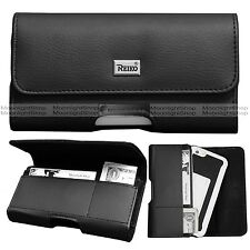 For Apple iPhone 7, Plus +Case Premium Leather Holster Belt Clip Pouch w/ Pocket